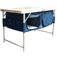 """Стол туристический складной Ranger """"Скаут"""" с отделами для хранения посуды (120х60х70см), с чехлом"""