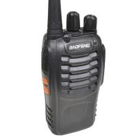 Рация Baofeng BF-888S (5W, UHF, 400-470 MHz, до 5 км, 16 каналов, АКБ), черная
