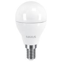 Лампа светодиодная Maxus G45 F (6W, 4100K, 220V, E14)