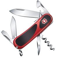 Нож складной, мультитул Victorinox Evogrip S101 (85мм, 12 функций), красный 2.3603.SC