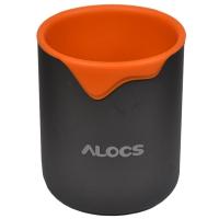 Термокружка Alocs TW-406 (0.3л), оранжевая