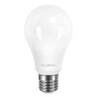 Лампа светодиодная Global A60 (10W, 4100K, 220V, E27) AL