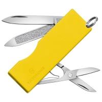 Нож складной, мультитул Victorinox Tomo (58мм, 5 функций), желтый 0.6201.А2