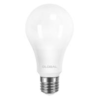 Лампа светодиодная Global A60 (12W, 4100K, 220V, E27) AL