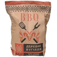 Уголь древесный для барбекю (2,5кг)