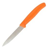 Нож бытовой, кухонный Victorinox SwissClassic (лезвие: 80мм), оранжевый 6.7606.L119