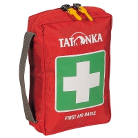 Аптечка Tatonka First Aid Basic (180х125х55мм), красная 2708.015