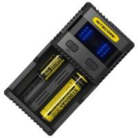 Зарядное устройство Nitecore SC2 с LED дисплеем (0.5A, 1A, 2A, 3A)