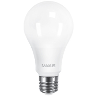 Лампа светодиодная  Maxus A65 (12W, 4100K, 220V, E27)