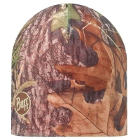 Шапка BUFF Reversible Hat (зима), mossy oak obsession military/orange 108920.846.10.00