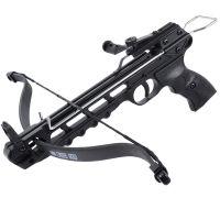 Арбалет пистолетный, алюминий + метал (длина: 300mm, сила натяжения: 10kg)