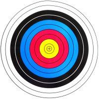 Мишень для стрельбы 10шт (60x60)