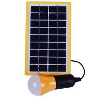 Солнечная система SS-601 (солнечная панель, аккумуляторный блок, LED лампы)