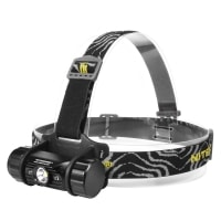 LED Headlamp Flashlight Nitecore HC50 (Cree XM-L2, 760 lumens, 10 modes, 1x18650)