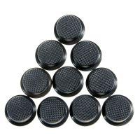 Cиликоновые кнопки для фонарей (12 x 7,5mm), черные
