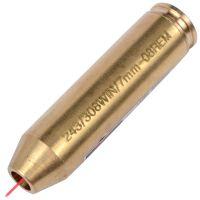 Лазерный патрон для холодной пристрелки (калибр: 243 / 308 WIN / 7mm-08REM), латунь