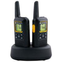 Рация Motorola XTB446 (0.5W, PMR446, 446 MHz, до 8 км, 8 каналов, 4xAAA), черная