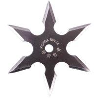 Сюрикен, метательная звездочка шестиконечная, в чехле