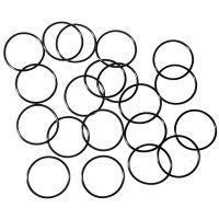 Водонепроницаемые уплотнительные кольца для фонарей (24 x 1.5mm), черные