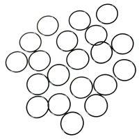 Водонепроницаемые уплотнительные кольца для фонарей (34 x 1.5mm), черные