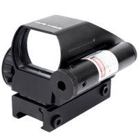 2 в 1 - Прицел коллиматорный голографический + лазерный целеуказатель Vector Optics (1x22x33, 5mW)