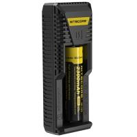 Зарядное устройство Nitecore Intellicharger i1 (1 канал + порт для зарядки электронных сигарет)