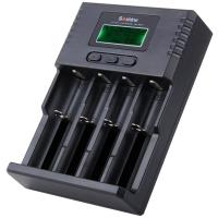Зарядное устройство Soshine H4 с LCD дисплеем (18650, 16340, 14500, 10440, CR2, CR123, AA, AAA, C)