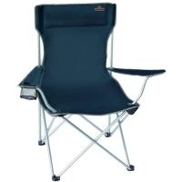 Кресло туристическое складное Pinguin Chair (53x46x51.5см), темно-синее 619065