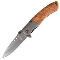 Нож складной полуавтомат BROWNING 328 (длина: 22.0см, лезвие: 9.5см)