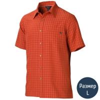 Рубашка мужская MARMOT Eldridge SS (р.L), rusted orange 62220.6198-L