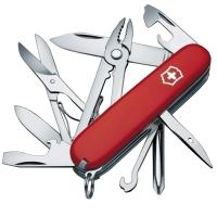 Нож складной, мультитул Victorinox Deluxe Tinker (91мм, 17 функций), красный 1.4723
