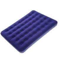Матрас надувной КЕМПИНГ Double CMG (185x138x22см), полуторный, синий