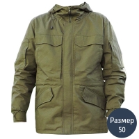 Куртка мужская, утепленная Тренд Горка М65 (р.50), олива