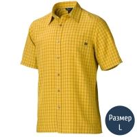 Рубашка мужская MARMOT Eldridge SS (р.L), mustard yellow 62220.9015-L