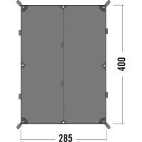 Тент Tatonka Tarp (2,85х4,00м), серый 2481.001