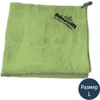 Полотенце Pinguin L (120x60см), зеленое 616446.G