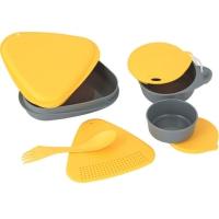 Набор посуды LIGHT MY FIRE MealKit (5 предметов), желтый