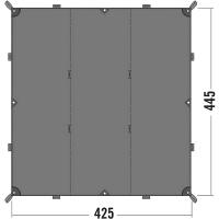 Тент Tatonka Tarp (4,25х4,45м), серый 2478.001