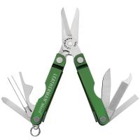 Многофункциональный инструмент, мультитул Leatherman Micra, зеленый 64350181N