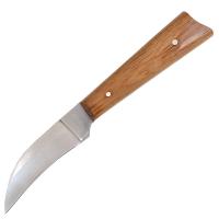 Нож бытовой, для кореньев Спутник (190х25х1.5мм), с притыном