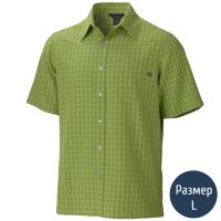 Рубашка мужская MARMOT Eldridge SS (р.L), palm green 62220.4408-L