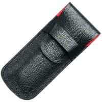 Чехол для ножей Victorinox (91-93мм, 2-3 слоя) кожаный, черный 4.0737