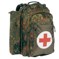 Рюкзак тактический, медицинский Tasmanian Tiger First Responder 2 FT (40л), flecktarn
