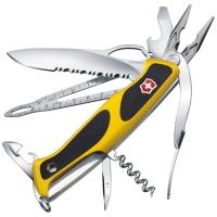 Нож складной, мультитул Victorinox Rangergrip Boatsman (130мм, 21 функций), желтый 0.9798.МWC8
