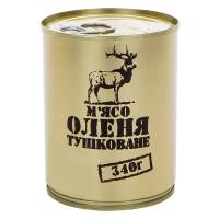 Тушенка из оленины, консерва (340г), ж/б