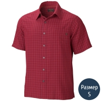 Рубашка мужская MARMOT Eldridge SS (р.S), brick 62220.066-S