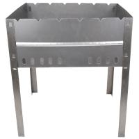 Мангал для шашлыков складной КЕМПИНГ Пикник BQ-1057, (6-местный), углеродистая сталь