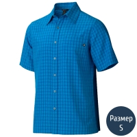 Рубашка мужская MARMOT Eldridge SS (р.S), azure blue 62220.2056-S