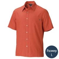 Рубашка мужская MARMOT Eldridge SS (р.L), true red ochre 62220.9456-L