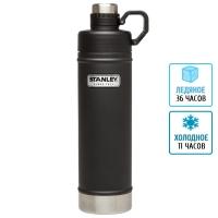Термобутылка Stanley Classic (0.75л), черная